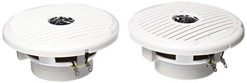 Jensen Silver/White MSX65R Coaxial Waterproof Speakers-6.5