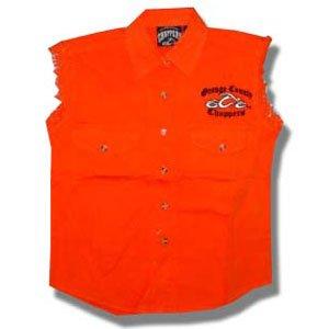 - Orange County Choppers Men's Logo Vest Small Orange