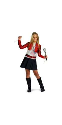 Hannah Jacket (Hannah Montana Red Jacket Costume - Child Costume - Medium (7-8))