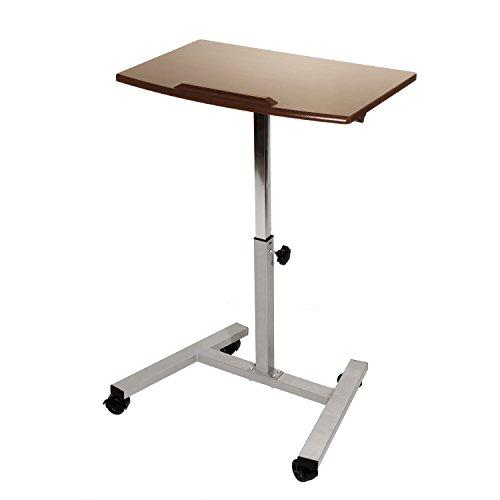 Seville Classics Tilting Mobile Laptop Desk Cart