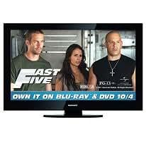 """37"""" Philips Magnavox HD 720p 1366x768 USB HDMI w/ Speakers Black LCD TV 37MF301B 37MF301B/F7"""