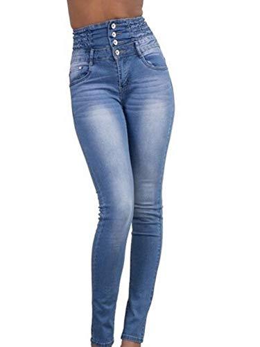 Romancan Blu Donna Jeans Skinny Blu Jeans Donna Skinny Jeans Romancan Romancan xgYfW5Iqwn