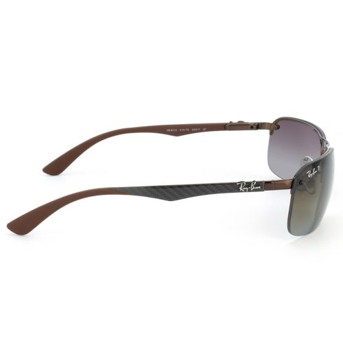 73b902f648 Ray-Ban RB 8310 014-T5 63 Men s Tech Carbon Fibre Brown Metal Frame  Polarized Polar Brown Lens Sunglass  Amazon.ca  Clothing   Accessories