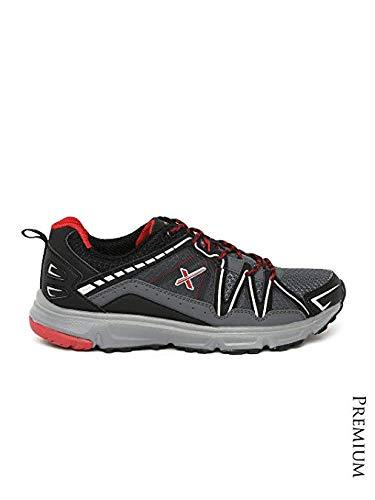 47ce0248e HRX by Hrithik Roshan Men Grey   Black Training Shoes (8uk)  Buy ...