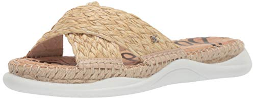 Sam Edelman Women's Jovie Sandal, Natural Raffia, 7 M US