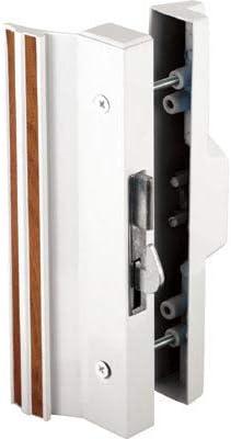 CRL blanco hook-style montaje en superficie puerta de cristal ...