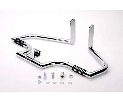 - LINDBY 110-1 Chrome Front Linbar Highway Bar (Fits 2000-2016 Harley-Davidson Flst Softail Models)