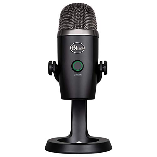 - Blue Yeti Nano Premium USB Mic for Recording and Streaming-Blackout (1639)