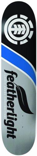 Element Featherlite Classic Skateboard Deck (7.75-Inch, Blue)