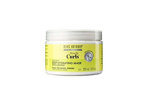 Marc Anthony Marc Anthony Strictly Curls Deep Hydrating Mask 10oz Jar, 10.0 Ounce (Best Hair Products For Fine Curly Hair)