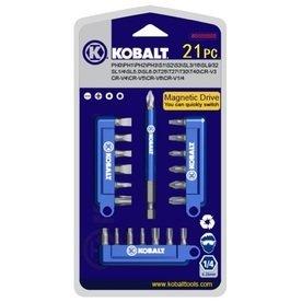 21 Piece Screwdriver Set (Kobalt 21 Piece Screwdriver Bit Set - Item #0394480)