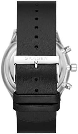 Skagen Men's Holst Stainless Steel Casual Quartz Watch WeeklyReviewer