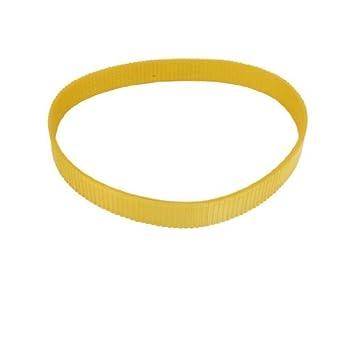 eDealMax Corte de la máquina de accionamiento motriz de la Cinta amarilla 25.6 Circunferencia: Amazon.com: Industrial & Scientific
