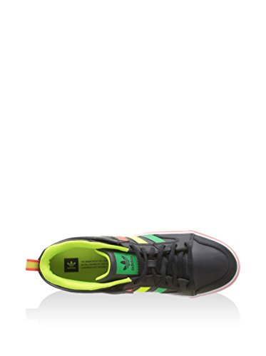 adidas Varial II Low, Men's Trainers Black / Yellow / Red / Green