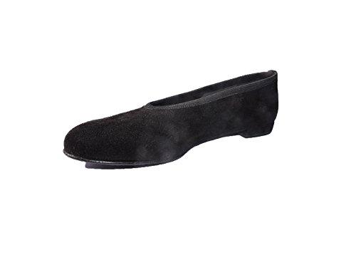 (Stuart Weitzman Womens Marlow Loafers Black Suede Ballet Flats Shoes Size 6 M)