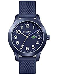 Kids' TR90 Quartz Watch with Rubber Strap, Blue, 14 (Model: 2030002)