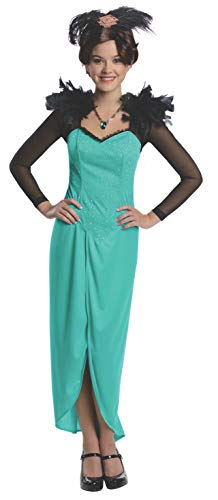 Rubie's Costume Disney's Oz The Great and Powerful Evanora Dress and Headpiece, Green, -