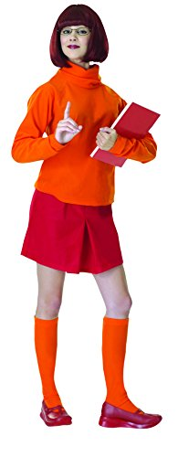 Halloween Velma For Costumes (Scooby-Doo Deluxe Adult Velma)