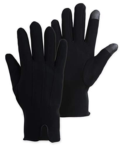 Brook + Bay Womens Touch Screen Running Gloves - Lightweight Sports Thermal Glove Liners - Designed for Running, Cycling, Driving & Texting - Fashionable and Stylish