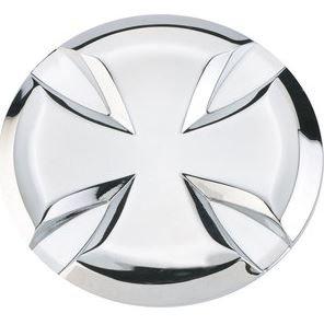 Emblema Adesivo Metallo Croce di Malta in rilievo Custom AMT CUSTOM