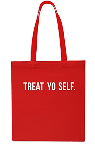 Yo Bag Self Black 42cm Shopping Small 10 Treat Red litrest x38cm Tote Beach Gym UqdU4RY