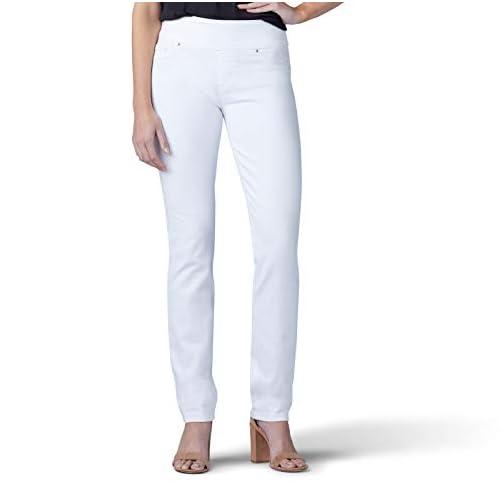LEE Women's Sculpting Fit Slim Leg Pull on Jean 3