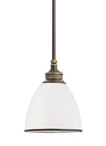 (Sea Gull Lighting 61350EN3-708 One Light Mini-Pendant, Estate)