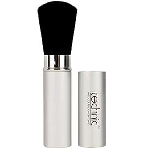 Badgequo Technic - Brocha retráctil para polvos de maquillaje