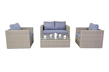 Outdoor Garden Furniture Rural ratán Muebles de jardín ...