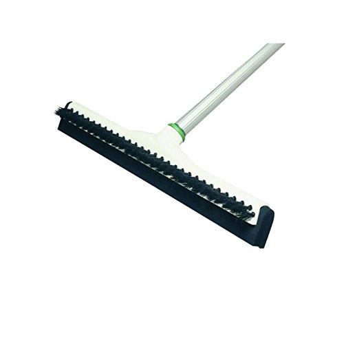 (Unger Sanitary Brush/Acme Insert Floor Squeegee, 18