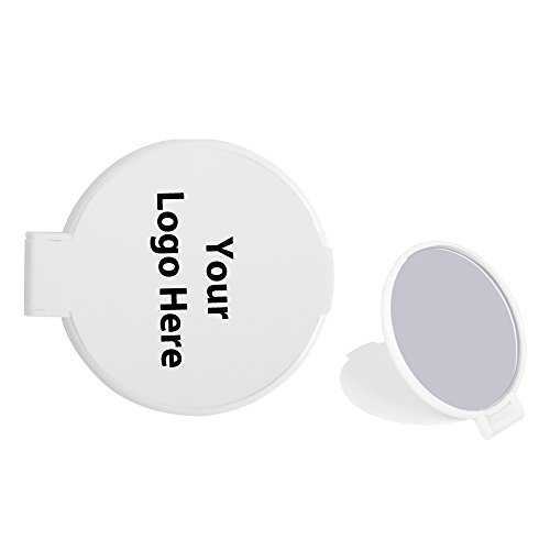 Compact Round Mirror - 250 Quantity - 1.00 Each - PROMOTIONAL PRODUCT/BULK/BRANDED with YOUR ()
