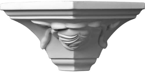 Ekena Millwork MOC03X03BU-CASE-4 Outside Corner for Moulding MLD03X03X05BU (4-Pack) 3 3/4P x 3 1/4H White