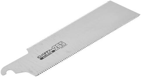 バクマ DIY・工具・ガーデン   大工道具・用品   切断工具   のこぎり   木工用のこぎり   両刃のこぎり 替刃式鋸 バクマソー両刃鋸 265 替刃 1枚入