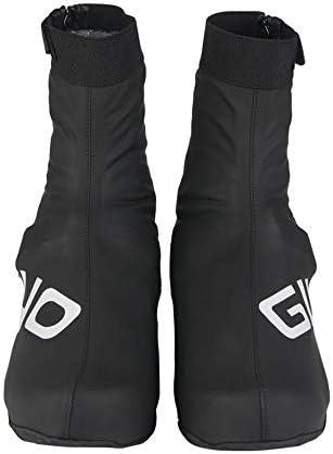 シューズカバー 高い防水靴をカバー乗っ靴は、抗暖かロードバイクレースバイクの靴カバーをカバー 通勤 通学 自転車用 (Color : Black, Size : XL)