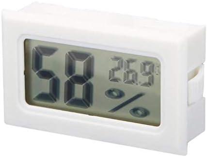 BWYFGRT Wetterstation Mini Digitales Temperatur-Feuchte-Messgerät Thermometer Hygrometer Innenraum-Raumtemperaturfühler