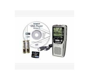 Olympus DS-2400 - Digital voice recorder - 1 GB SD Card