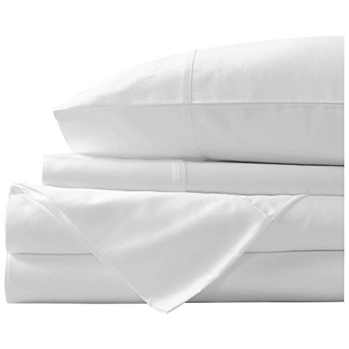 Marina Shades Authentic Egyptian Cotton Sheet Set fits mattresses up to 19
