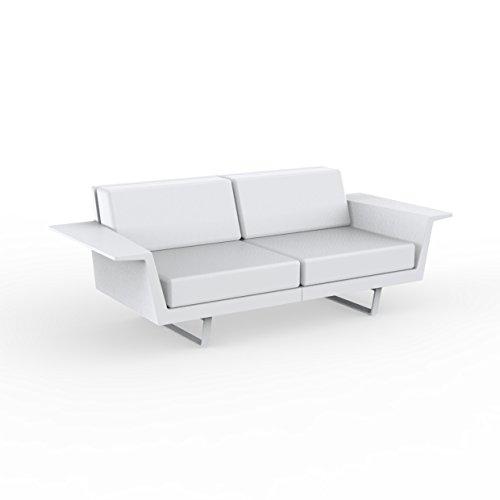 Vondom Flat Sofa 2 White