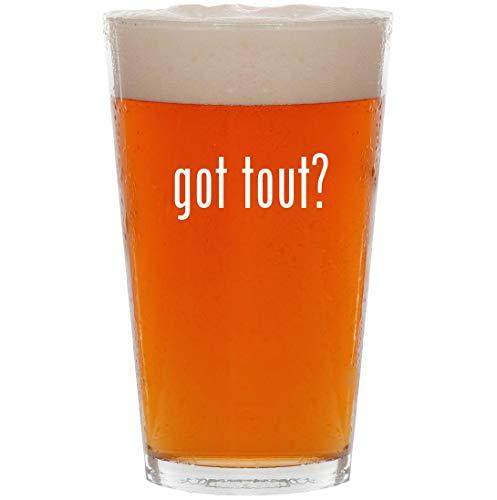 got tout? - 16oz All Purpose Pint Beer Glass (Lulu Brillen)