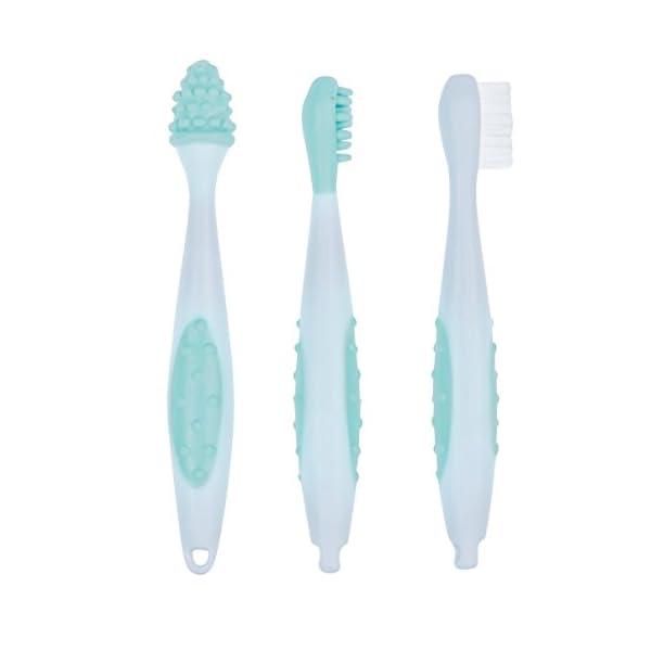 Bébé Confort 3106203000 - Set de 3 cepillos de dientes 2