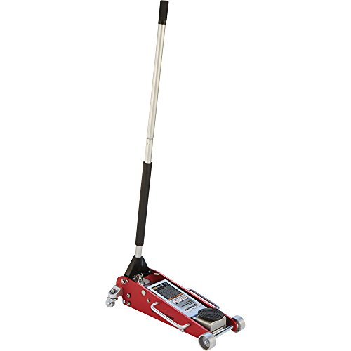 Strongway Hydraulic Aluminum/Steel Quick Lift Service Jack - 2 1/2-Ton Capacity, 3 15/16in.-18 1/8in. Lifting Range by Strongway (Image #4)