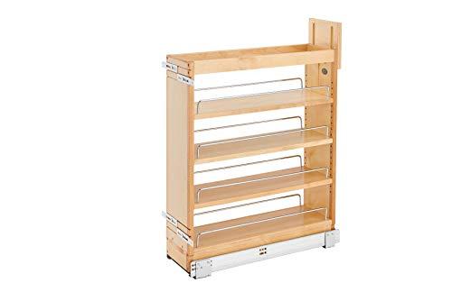 Rev-A-Shelf 6.5 in Base Cabinet Organizer Soft-Close, 6