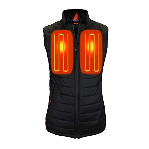 The Warming Store ActionHeat 5V Battery Heated Insulated Puffer Vest - Women's