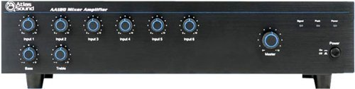 Atlas Sound AA120 120 Watt Six Input Mixer Amplifier