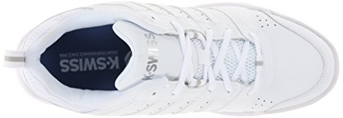 K-Swiss Performance  Ks Tfw Vendy Ii-white/navy-m, Chaussures de Tennis homme - blanc - blanc/argenté, 44 EU