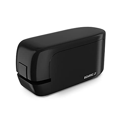 25 Sheet No-Jam Automatic Stapler by Bizarre.ly - Professional Heavy Duty Office Stapler with Precise Stapling Technology - Quiet, Compact and Cordless - Includes Free Staples and Warranty