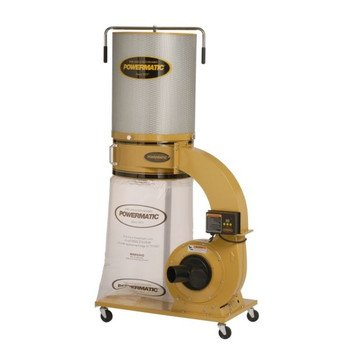 - Powermatic PM1300 1791077CK 1-3/4 HP Dust Collector with Canister Kit