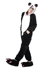 Cosplay Animal Pajamas Sleepwear Adult Unisex Onesies Halloween Costume Panda