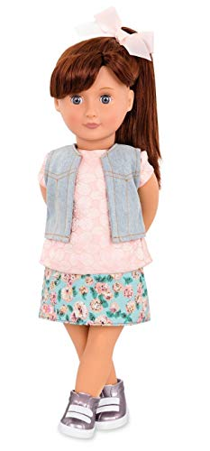 Our Generation Regular Doll with Printed Skirt Myriam -