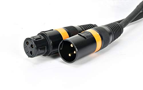 Cable ADJ Products AC3PDMX25 25 pies 3 pin DMX para productos de iluminación